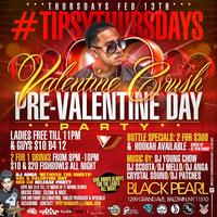 DJ YOUNG CHOW INVADES TIPSY THURSDAYS AT BLACK PEARL