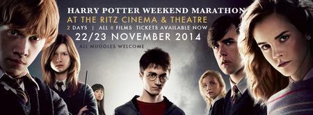 Harry Potter Marathon Weekend 2014 @TheRitzCinema