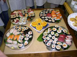 The Art of Sushi Making Class with Chef Eric -...