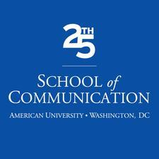 American University School of Communication logo