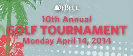 10th Annual Charity Golf Tournament benefitting City...