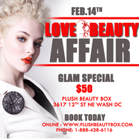 (VALENTINE'S MAKE-UP SPECIAL)  BEAUTY & LOVE AFFAIR