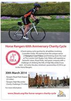 Horse Rangers 60th Anniversary Cycle Event logo