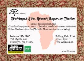 The Impact of The African Diaspora on Fashion