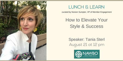 August Lunch & Learn: How to Elevate Your Style & Success