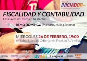 """Iniciador Granada Febrero """"Fiscalidad y Contabilidad:..."""
