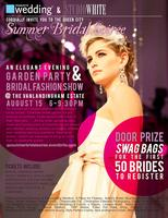 The Queen City Summer Bridal Soiree' : An Elegant Evening Garden Party & Bridal Fashion Show