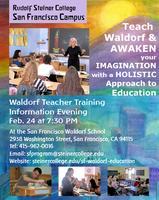 Feb. 24 Information Evening: Become a Waldorf Teacher!