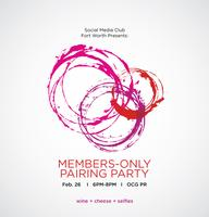 SMCFW Presents: Members-Only Pairing Party