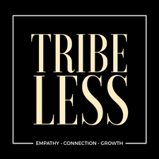 Tribeless | See The Human First logo