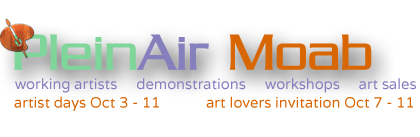 Plein Air Moab 2014 Artist Registration