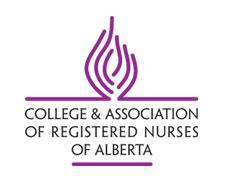 College and Association of Registered Nurses of Alberta  logo