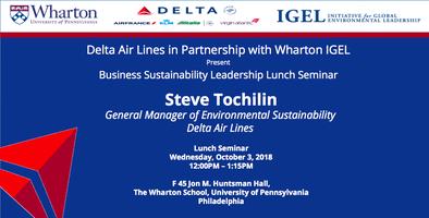Delta Air Lines in Partnership with Wharton IGEL Presen...