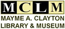 Mayme A. Clayton Library and Museum logo
