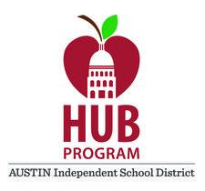 Austin ISD HUB Program Department logo