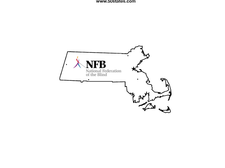 National Federation of the Blind of Massachusetts logo