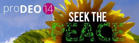 Pro Deo Conference '14: Seek the Peace