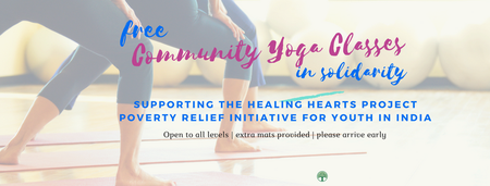 Free Community Yoga Classes in Solidarity for Refugees