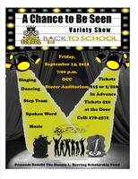 A Chance to Be Seen Variety Show