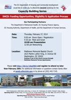 DHCD Funding Opportunities: Eligibility and...