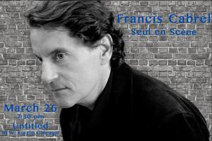 Francis Cabrel Live! One-Night Only!