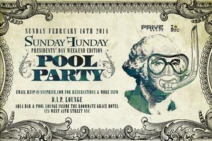 President's Day Weekend Indoor Pool Party at Grace...