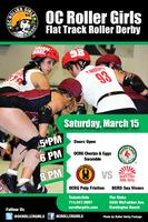 OC Roller Derby: Chorizo & Eggs, Pulp Friction & Beach...