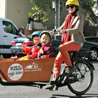 Cargo Bike Family Picnic