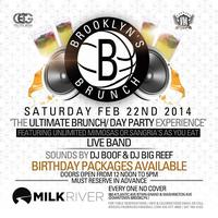 2-22-14  Brooklyn Brunch At Milk River