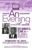 An Evening with Representative Robert G. Clark, Jr....