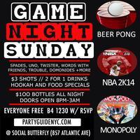 Game Night Sunday