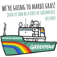 Greenpeace Sydney MardiGras 2014