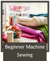 SOLD OUT Beginner Machine Sewing: 4 classes - $120.00