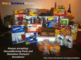 Glory Soldiers Global Community Housewarming Party