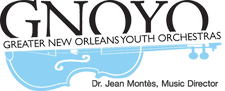 The Greater New Orleans Youth Orchestras  logo