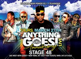 DJNORIE ANYTHING GOES ANNIVERSARY FESTIVAL