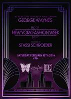 George Wayne's End Of Fashion Week Party Hosted By...