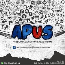 APUS - Comunicação Visual e Produtora logo