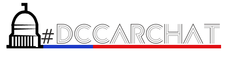 Melanie Batenchuk, founder of #DCCarChat logo
