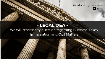 LEGAL Q&A: Business, Taxes, Immigration and Civil...