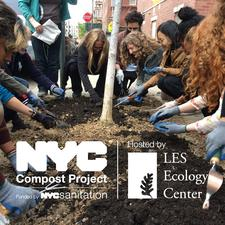 NYC Compost Project hosted by LES Ecology Center logo
