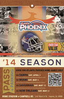 Atlanta Phoenix Women's Football Game Tickets