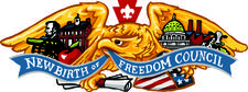 New Birth of Freedom Council logo