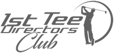 1st Tee Directors Club : Strategically Assembled Business Groups of Sports and Golf Enthusiasts improving your Wellbeing logo