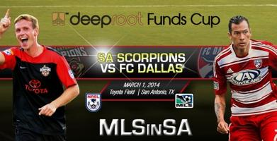 MLS in SA: FC Dallas vs SA Scorpions