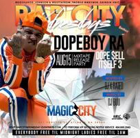 Dope Boy Ra Mixtape Release Party Rap City Wednesday's