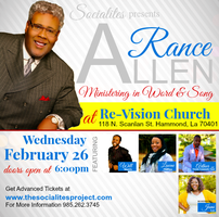 RANCE ALLEN: Ministering in Word & Song