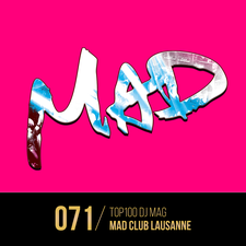 MAD CLUB, LAUSANNE - INVITATIONS logo