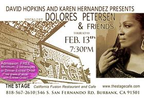DOLORES PETERSEN @ The Stage