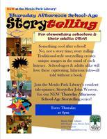 Menlo Park Library Elementary School-Age StoryTELLING:...